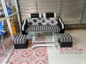 Sofa băng mini z1 đen