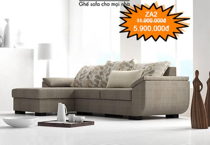 Ghế sofa giá rẻ ZA2