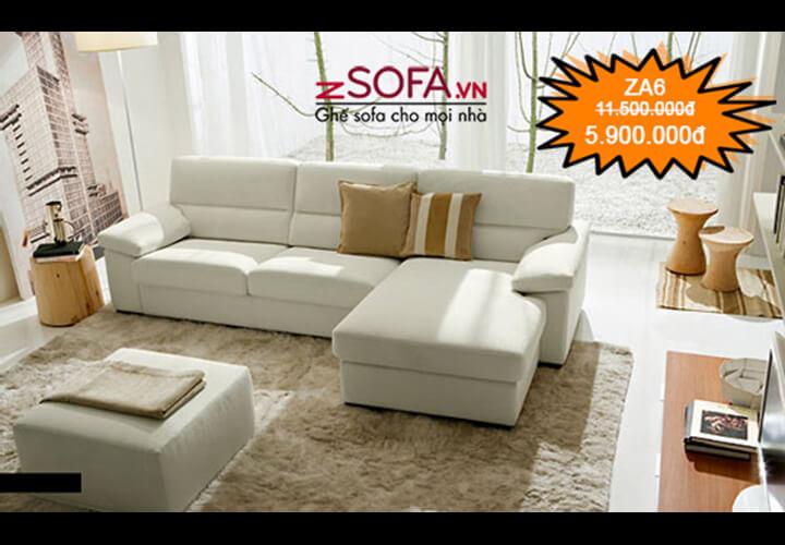 Ghế sofa giá rẻ ZA6