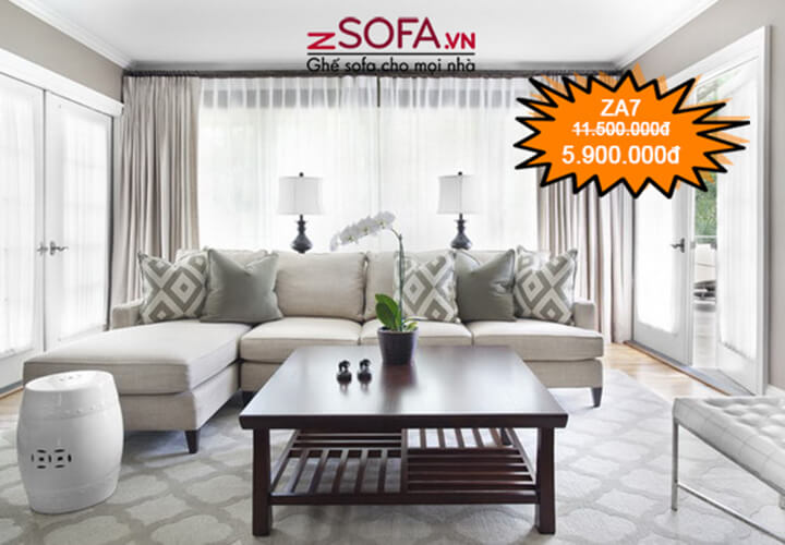 Ghế sofa giá rẻ ZA7