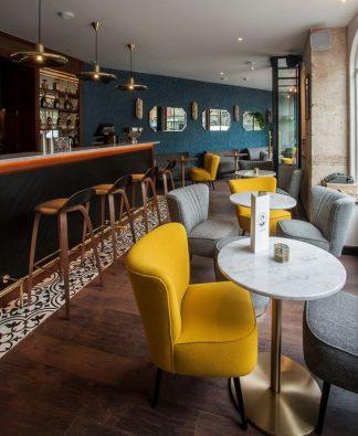 Ghế sofa quán cafe ZC005