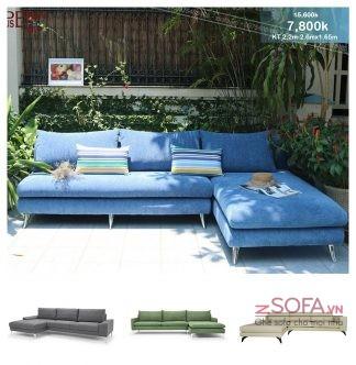 Ghế sofa góc chữ L cho chung cư Z3008