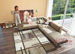 sofa góc chữ L cỡ lớn giá rẻ