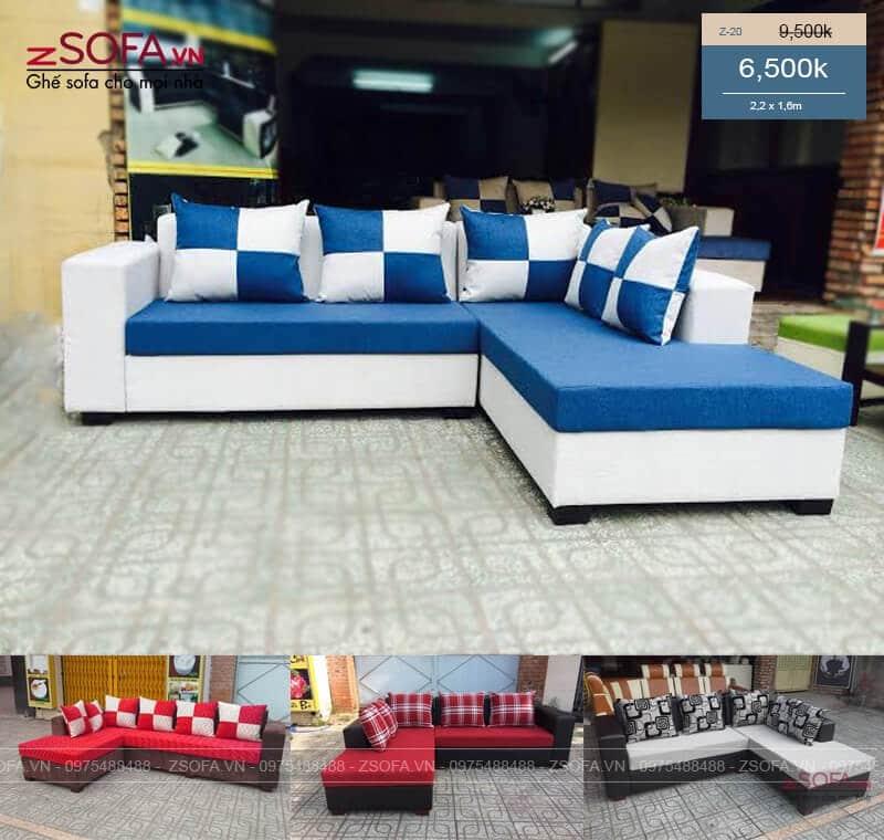 ghế sofa góc z20