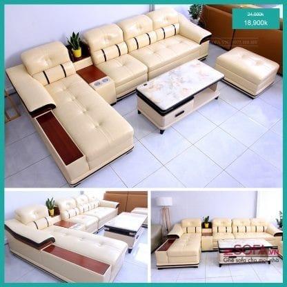 Mua bộ ghế sofa góc chất lượng nhất ở TPHCM