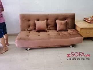Sofa giường màu nâu KMZ012