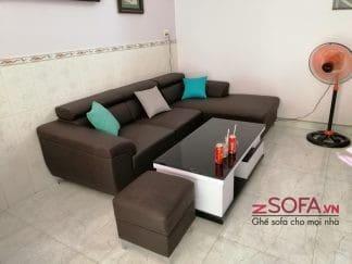 Sofa góc chữ L cho chung cư kmz026