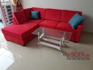 Sofa góc chữ L phòng khách kmz028