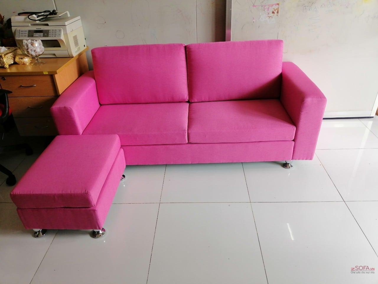 Sofa băng màu hồng KMZ056