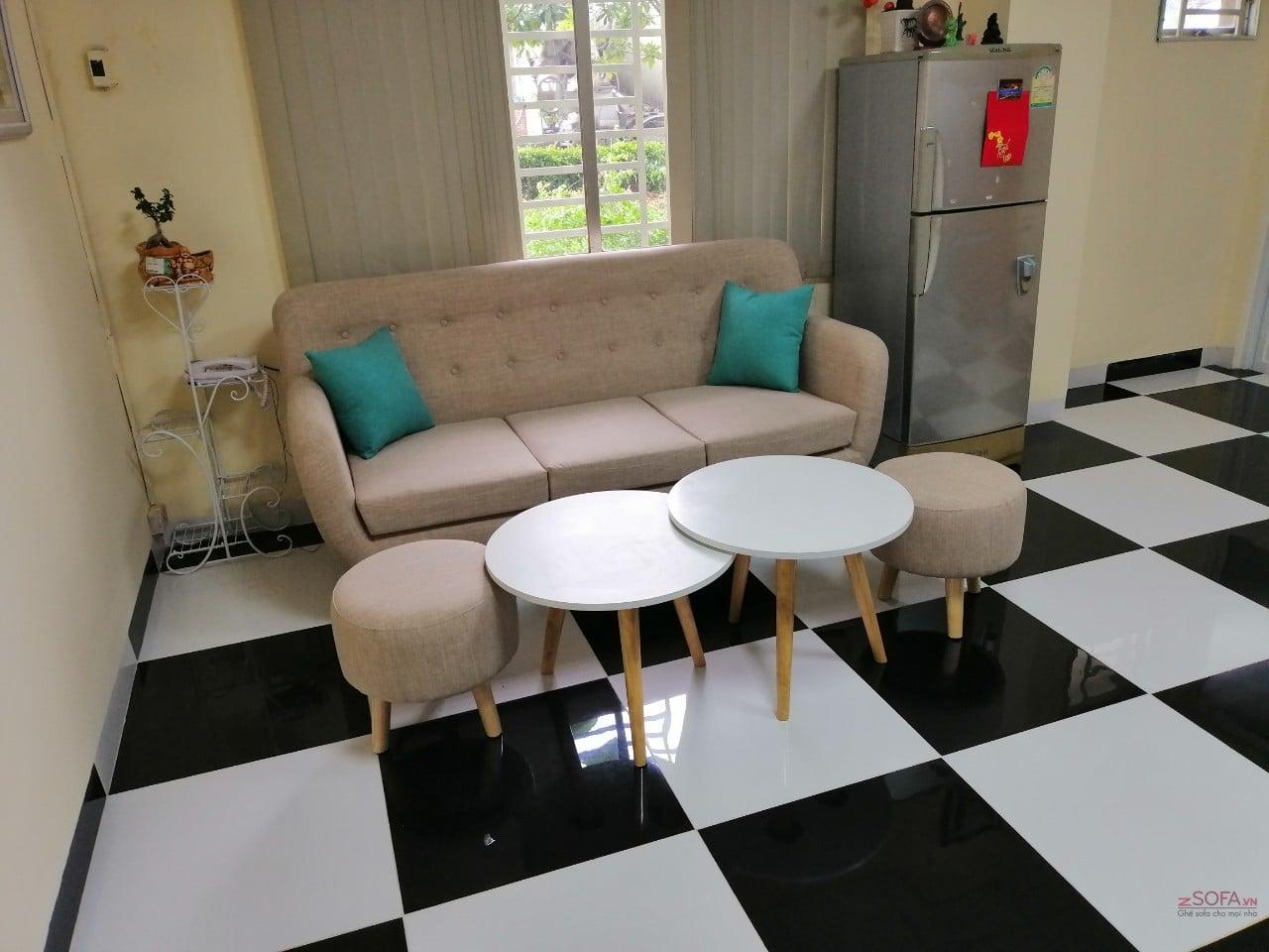 Sofa băng Châu Âu giá rẻ KMZ020