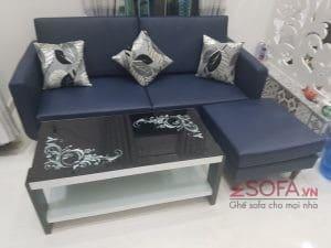 bàn sofa bền đẹp simili giá rẻ KMZ021