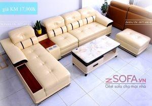 Ghế sofa nệm - mang đến sự thoải mái cho phòng khách
