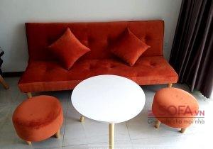 Ghế sofa xếp gọn dành cho phòng khách